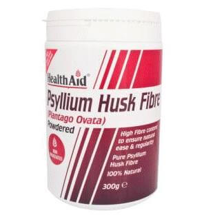 Health Aid Psyllium Husk Fibre Powder Έλεγχο Του Βάρους Της Χοληστερόλης Και Γενικά Στην Υγεία Του Εντέρου 300g
