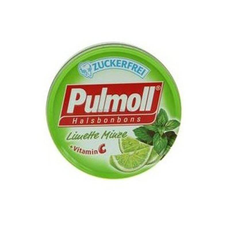 Pulmoll Καραμέλες με Γλυκολέμονο + Βιταμίνη C