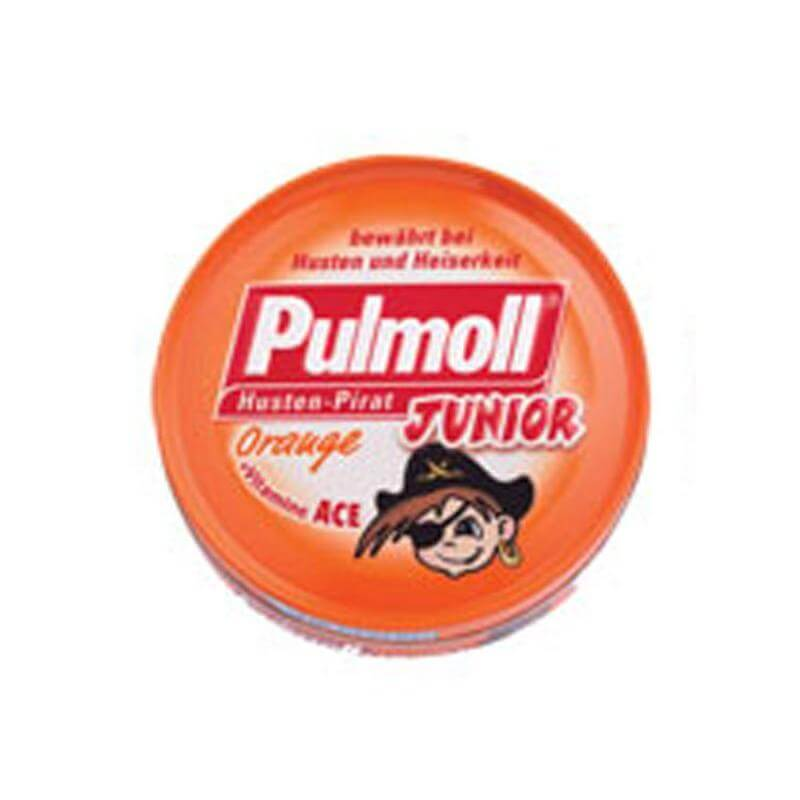 Pulmoll Junior Καραμέλες με Πορτοκάλι & Βιταμίνη ACE