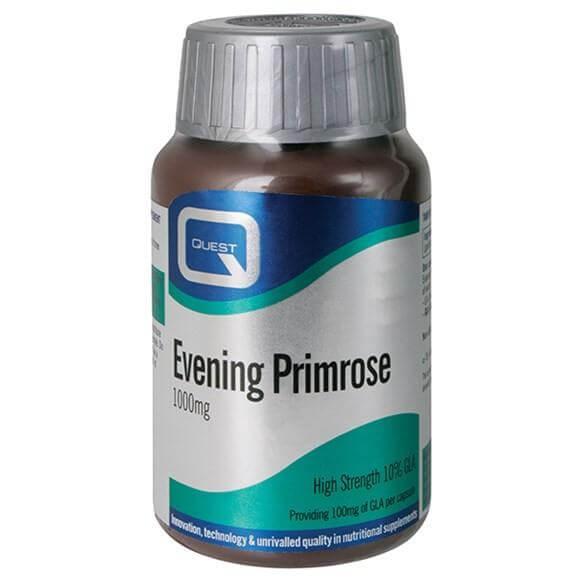 Quest Evening Primrose Oil 1000mg 10% GLA 30 κάψουλες