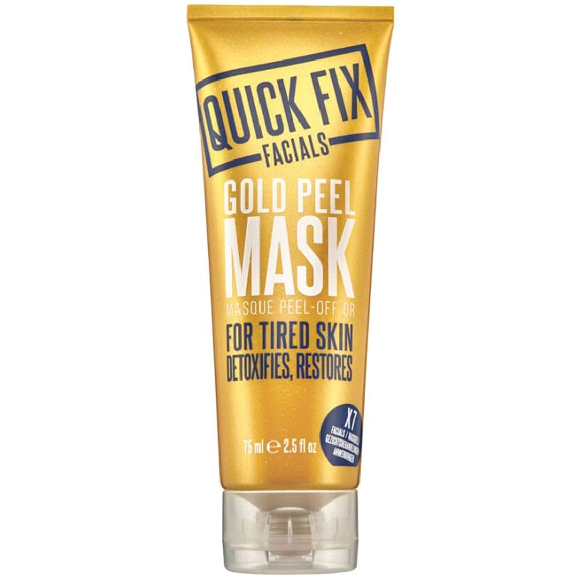 Quick Fix Facials Gold Peel Mask, Μάσκα Ιδανική για Κουρασμένο Δέρμα 75ml