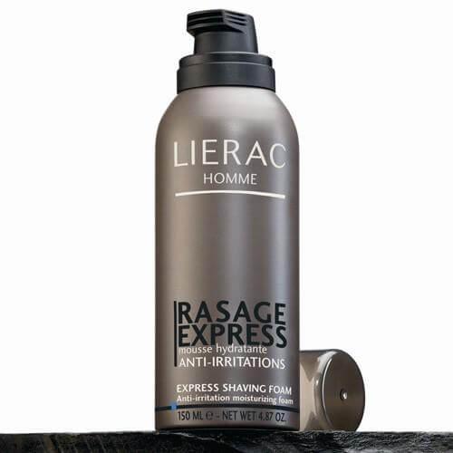 Lierac Homme Mousse De Rasage Ενυδατικός Αφρός Ξυρίσματος Κατά Των Ερεθισμών 150ml