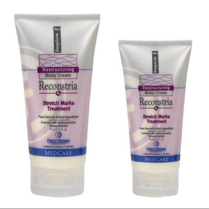 Frezyderm Reconstria Cream 75ml & Δώρο Reconstria Cream Αναπλαστική Κρέμα για τις Ραγάδες40ml