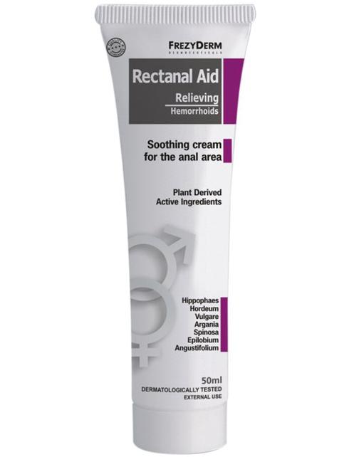 Frezyderm Rectanal Aid CremeΚαταπραϋντική Kρέμα για την Aνακούφιση των Aιμορροΐδων 50ml