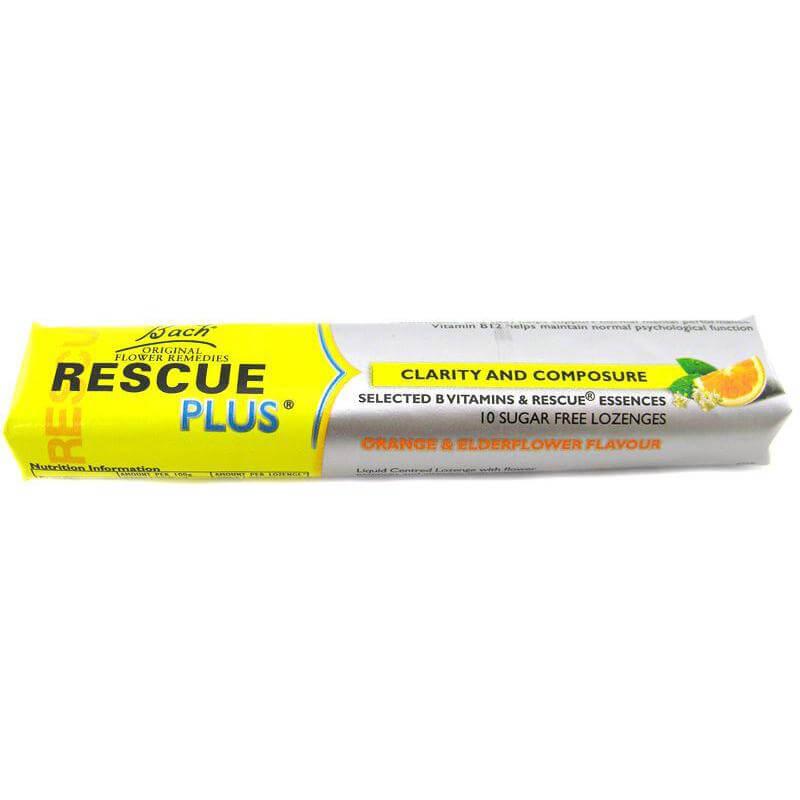 Power Health Rescue Plus Καραμέλες 10Τμχ