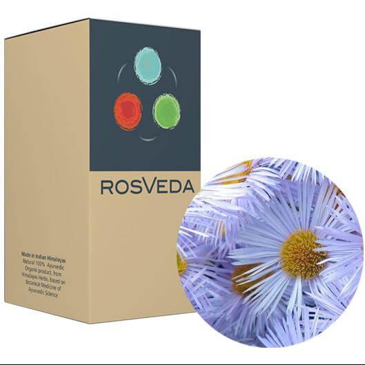 RosVeda Pure Essential Oil Chamomile Blue, 100% Φυτική Σύνθεση, Αιθέριο Έλαιο Μπλε Χαμομήλι 10ml