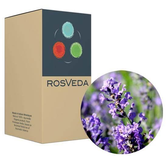 RosVeda Pure Essential Oil Lavender, 100% Φυτική Σύνθεση, Αιθέριο Έλαιο Λεβάντα 10ml
