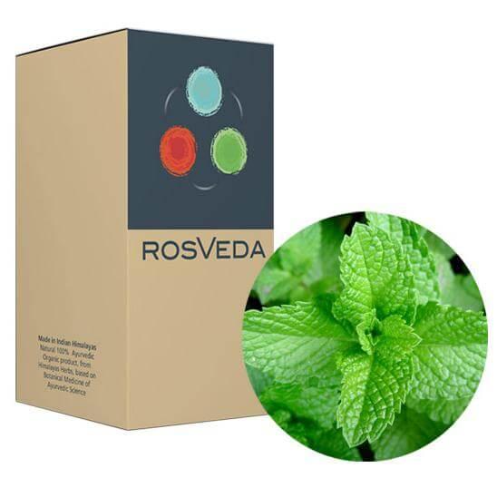 RosVeda Pure Essential Oil Peppermint, 100% Φυτική Σύνθεση, Αιθέριο Έλαιο Μέντα 10ml