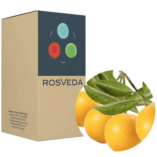 RosVeda Pure Essential Oil Bergamot, 100% Φυτική Σύνθεση, Αιθέριο Έλαιο Περγαμόντο 10ml