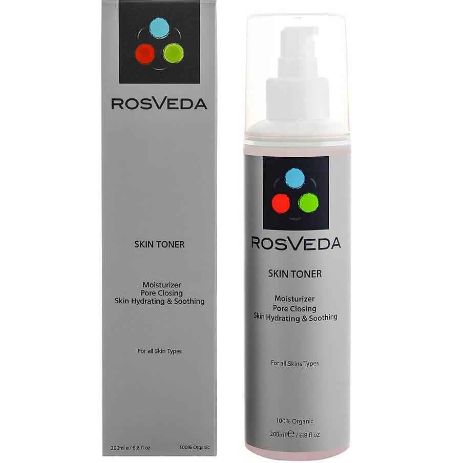 RosVeda Skin Toner Hydrating & Soothing 100% Φυτική Σύνθεση, Τονωτικό & Καταπραϋντικό της Ευαίσθητης Επιδερμίδας 200ml