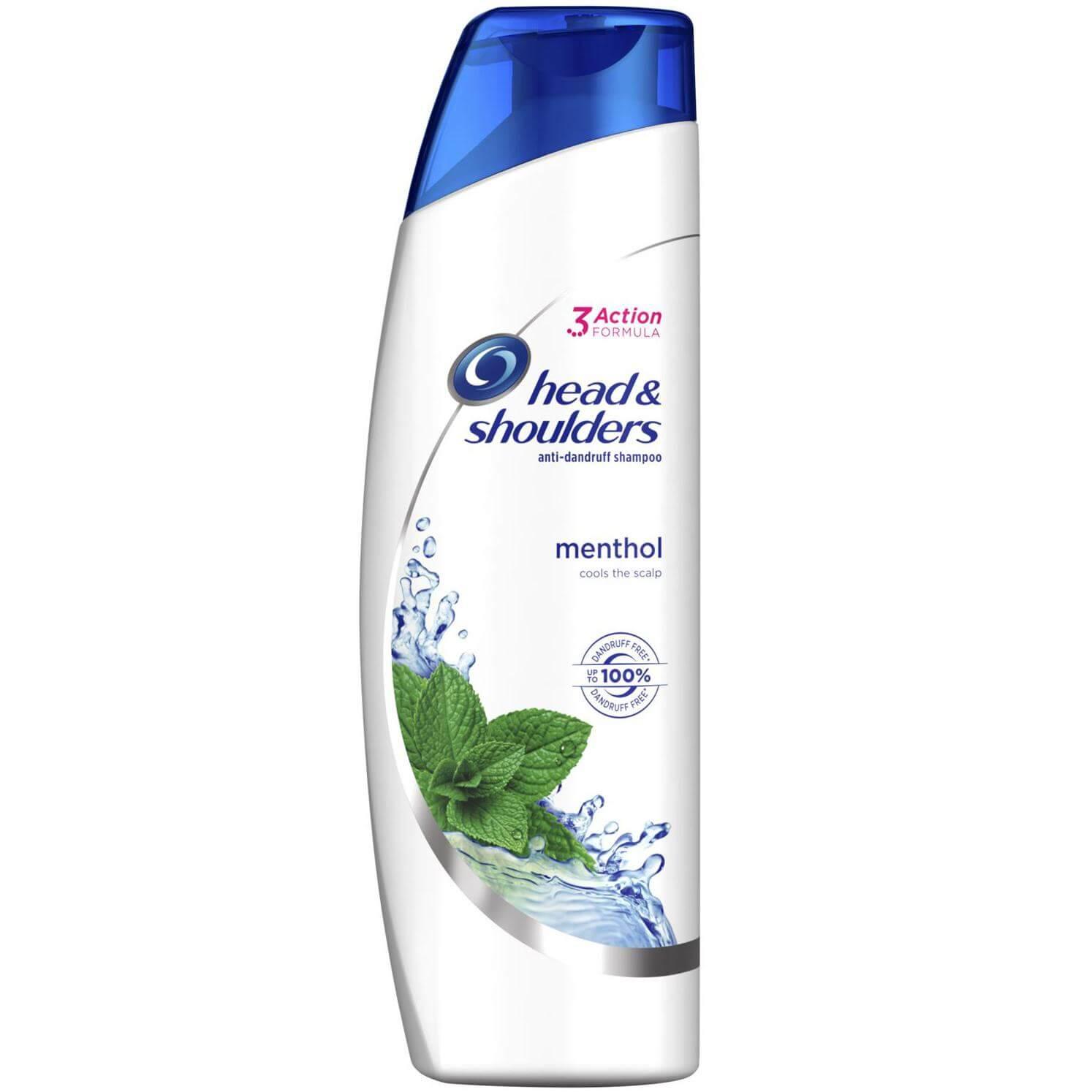 Head & Shoulders Anti-Dandruff Cool Menthol Shampoo Σαμπουάν Κατά της Πιτυρίδας με Μενθόλη για Φυσική Αίσθηση Δροσιάς 225ml