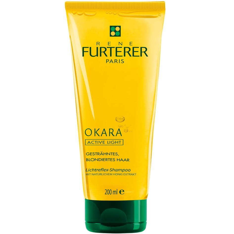 Rene Furterer Okara Active Light Shampoo Σαμπουάν με Φυσικό Εκχύλισμα Μελιού για Λαμπερά Μαλλιά 200 ml