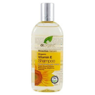 Dr Organic Organic Vitamin E Shampoo Σαμπουάν με Βιολογική Βιταμίνη E 265ml