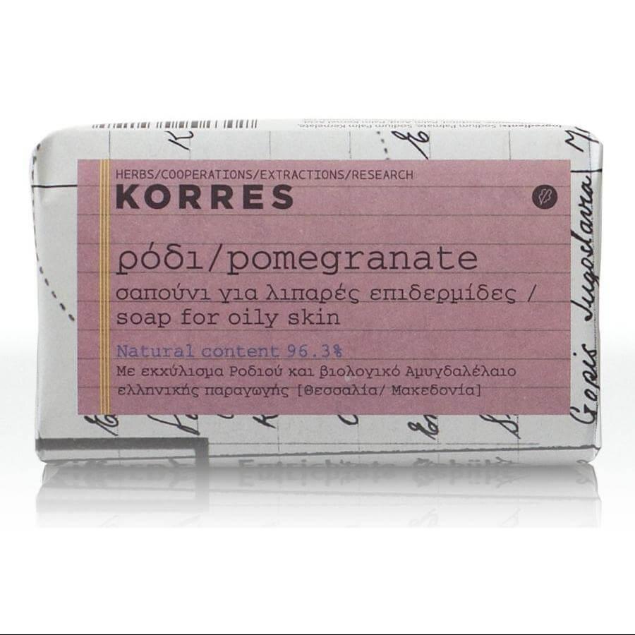 Korres Ρόδι Σαπούνι Για Λιπαρές Επιδερμίδες 125gr