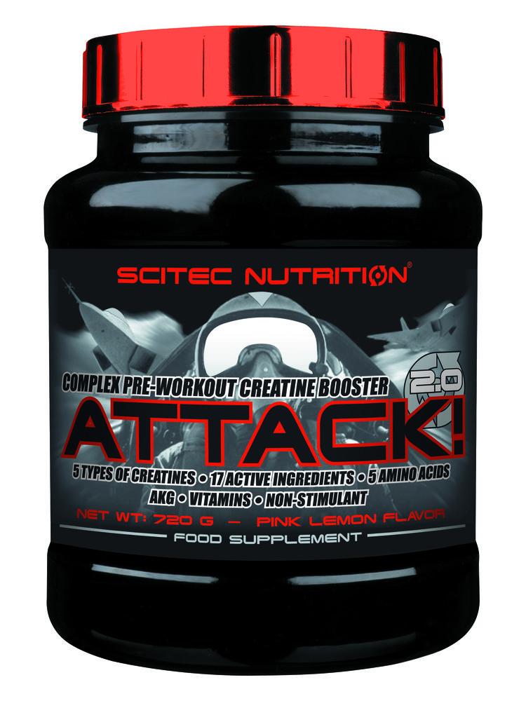 Scitec Nutrition Attack 2.0 Ενισχύσει της Μυική σας Ανάπτυξη και Ανάρρωση 720g ΗΜΕΡΟΜΗΝΙΑ ΛΗΞΗΣ 01/2017 – Pear