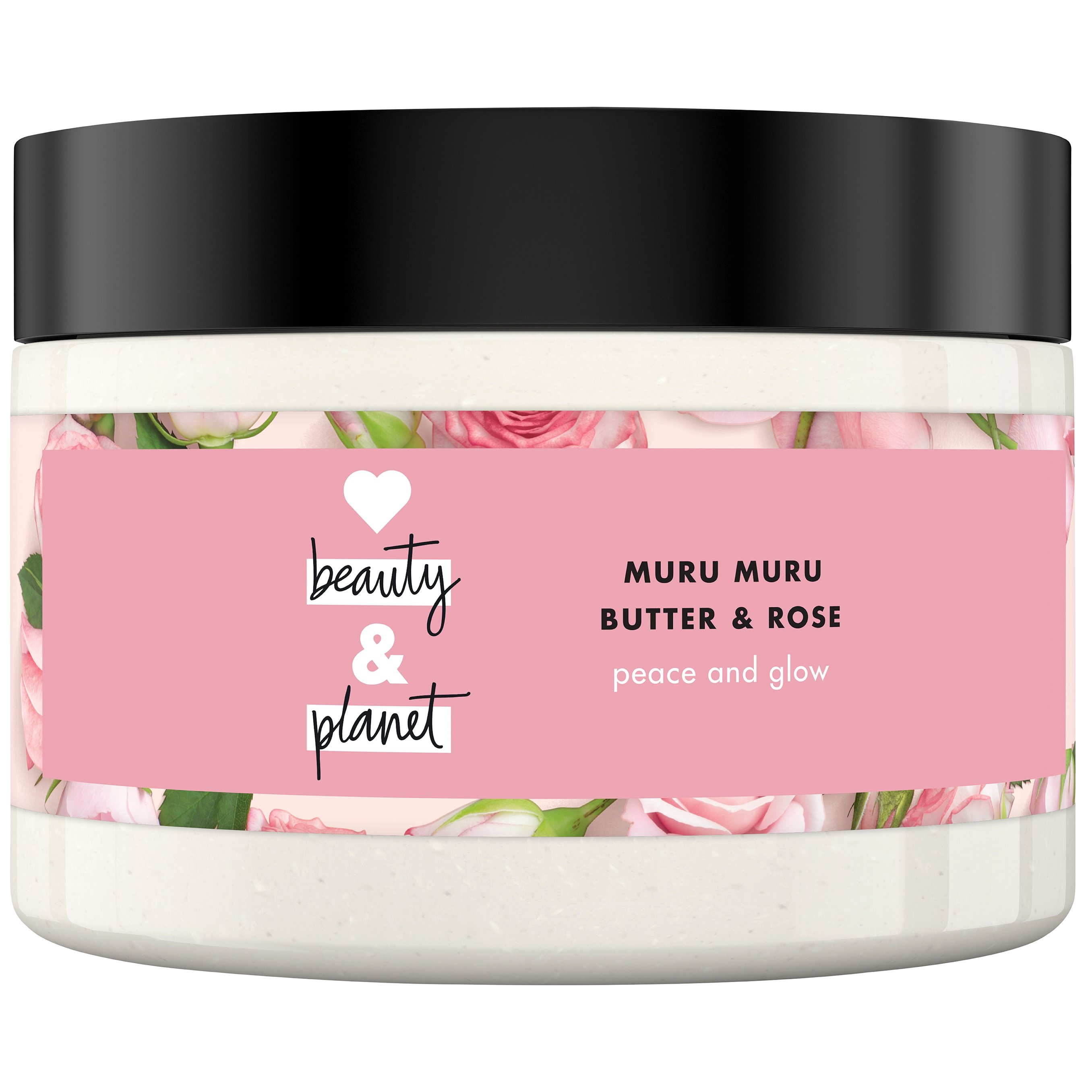 Love Beauty and Planet Muru Muru & Rose Body Scrub Απολέπισης για το Σώμα 250ml