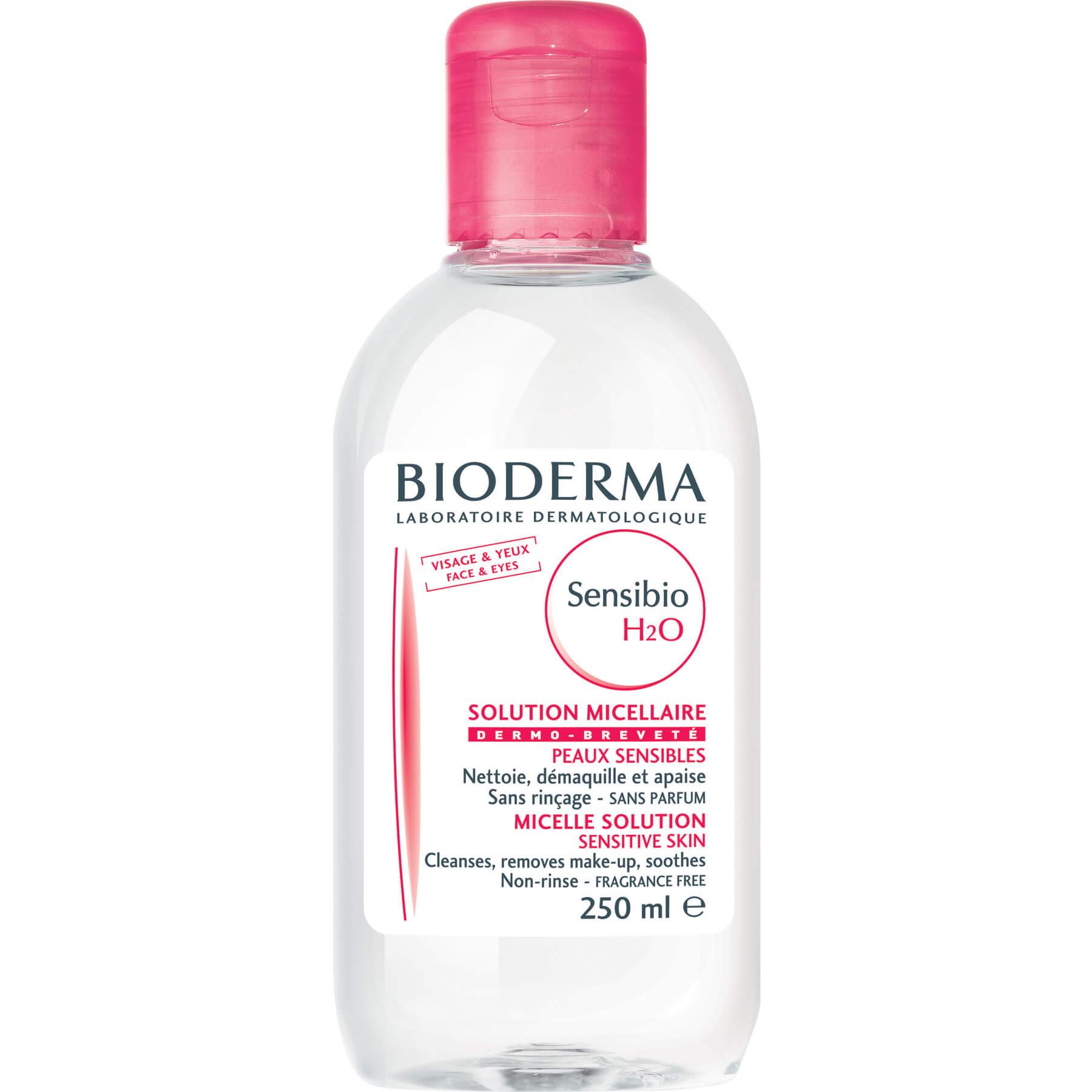 Bioderma Sensibio H2O Κολλοειδές Διάλυμα Καθαρισμού & Ντεμακιγιάζ Προσώπου & Ματιών 250ml Promo -20%