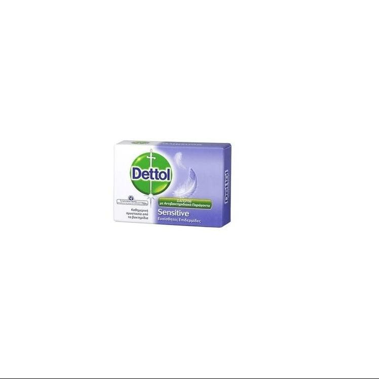 Dettol Sensitive Σαπούνι Μπάρα ευαίσθητες επιδερμίδες 100 gr