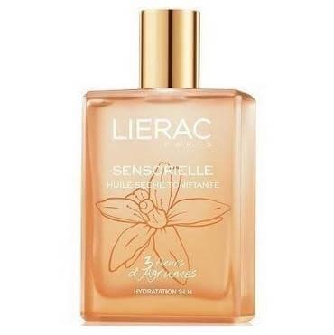 Lierac Huile Sensorielle 3 Fleurs d Agrume Ξηρό Λάδι Αναζωογόνησης & 24ης Ενυδάτωσης Πρόσωπο Σώμα & Μαλλιά 100ml