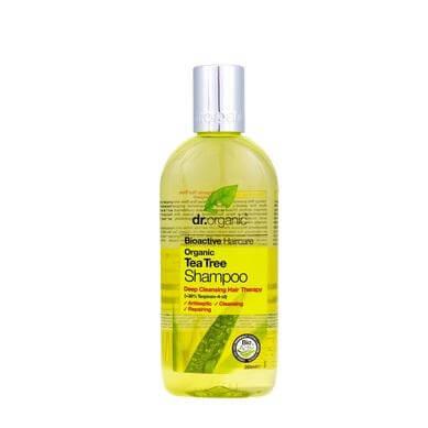 Dr Organic Organic Tea Tree Shampoo Σαμπουάν με Βιολογικό Τεϊόδεντρο 265ml