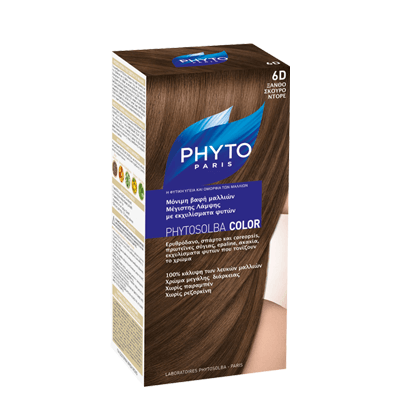 Phyto PHYTOSOLBA COLOR Μόνιμη βαφή – Όλοι οι τύποι μαλλιών – 7PG Ξανθό Νουγκατίνα Γλασέ