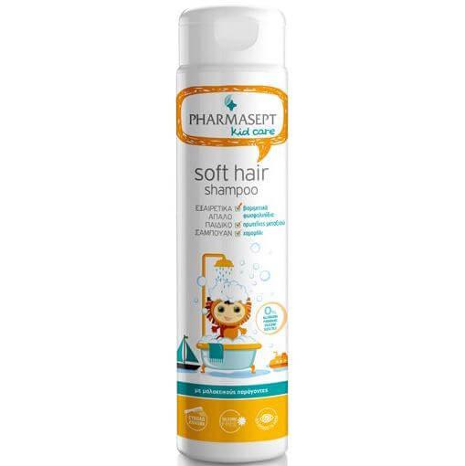 Pharmasept Kid Care Soft Hair Shampoo Εξαιρετικά Απαλό Παιδικό Σαμπουάν 300ml