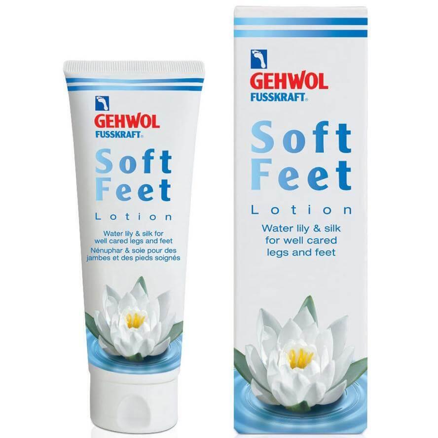 Gehwol Fusskraft Soft Feet Lotion Ξεκουράζει τα Βαριά Καταπονημένα Πόδια και Προλαμβάνει τις Ευρυαγγείες 125ml