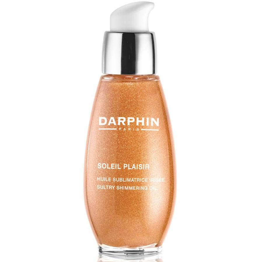Darphin Soleil Plaisir Sultry Shimmering Oil Ενυδατικό Ιριδίζον Λάδι για την Ενίσχυση & την Διάρκεια του Μαυρίσματος 50ml