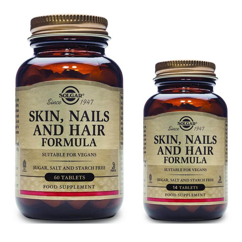 Solgar Πακέτο Προσφοράς Skin Nails & Hair Formula Συμπλήρωμα Διατροφής για Νύχια, Μαλλιά &Δέρμα60 Tabs & Δώρο 14Tabs