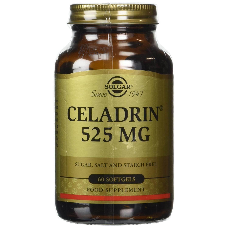 Solgar Celadrin 525mg Συμπλήρωμα Διατροφής για την Αντιμετώπιση Φλεγμονών Οστεοαρθρίτιδας 60softgels