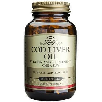 Solgar Norwegian Cod Liver Oil 100softgels