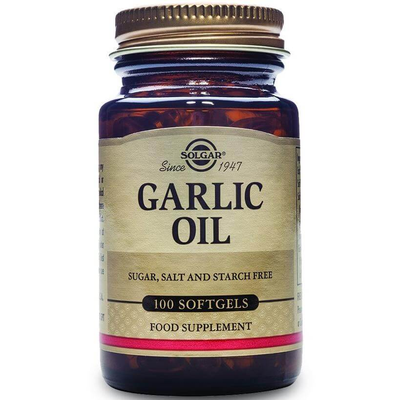 Solgar Garlic Oil Συμπλήρωμα Διατροφής με Αντιβακτηριακές Ιδιότητες, Χρήσιμο Βοή υγεία ευεξία   βότανα βιταμίνες   υπερτροφές superfoods