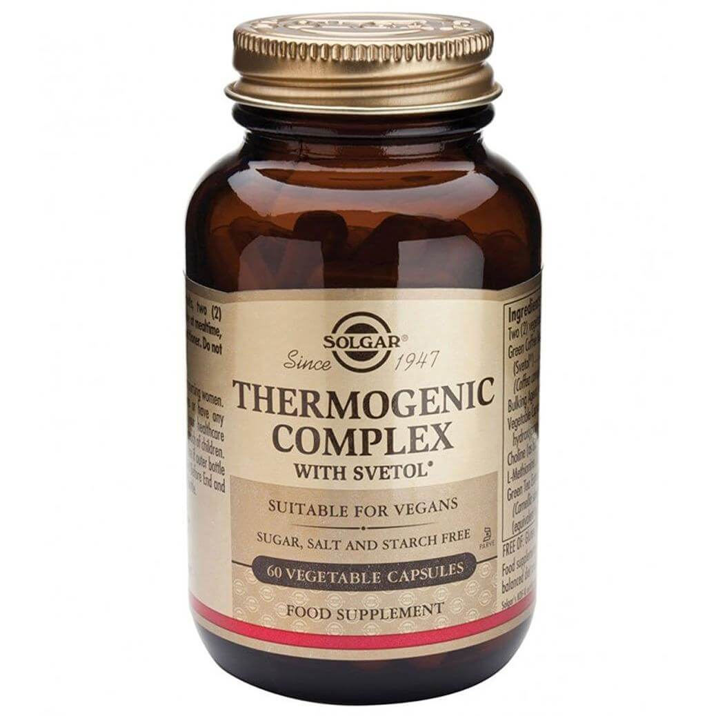 Solgar Thermogenic Complex Συμπλήρωμα Διατροφής για τη Ρύθμιση του Μεταβολισμού60 veg.caps