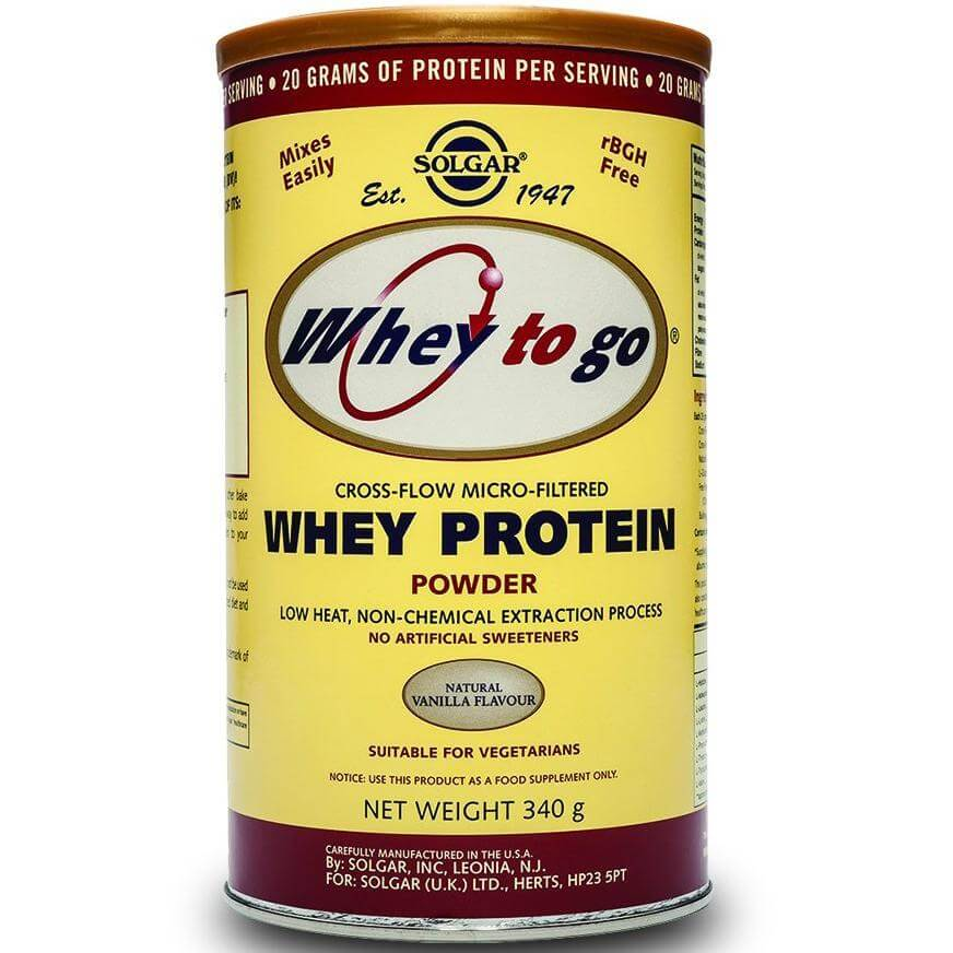 Solgar Whey-To-Go Protein Powder Υψηλής Αξίας Πρωτεϊνη Απο Ορό Γάλακτος – CHOCOLATE powder 1162gr