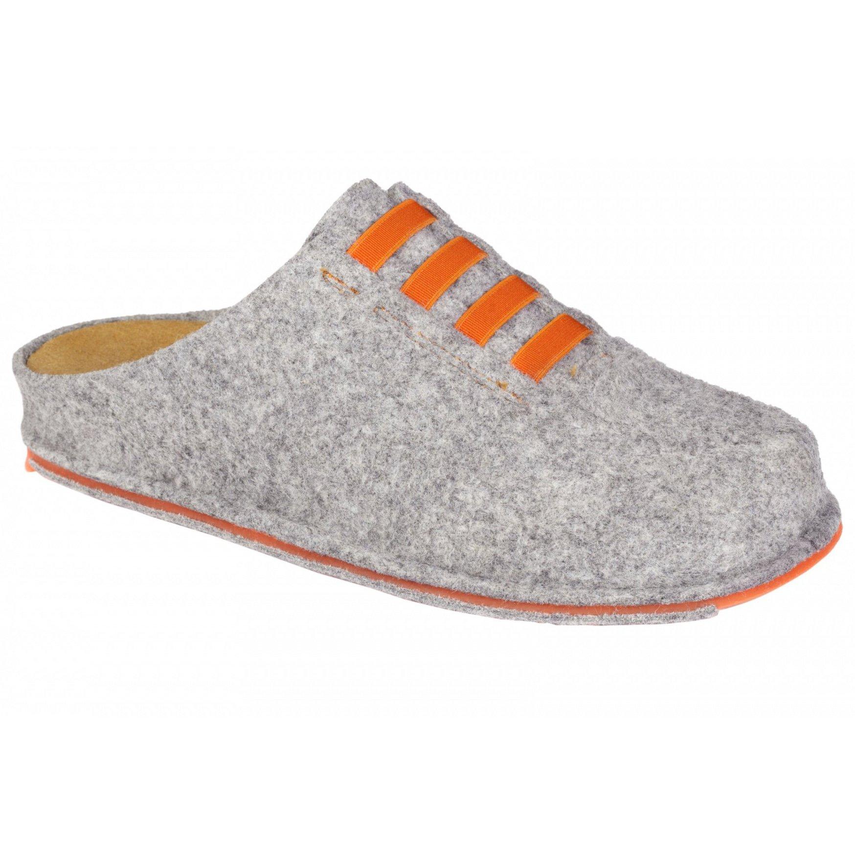 Dr Scholl Shoes Spikey10 Γκρι-Πορτοκαλί Γυναικείες Ανατομικές Παντόφλες Χαρίζουν φαρμακείο   ανατομικά παπούτσια   γυναικεία ανατομικά παπούτσια