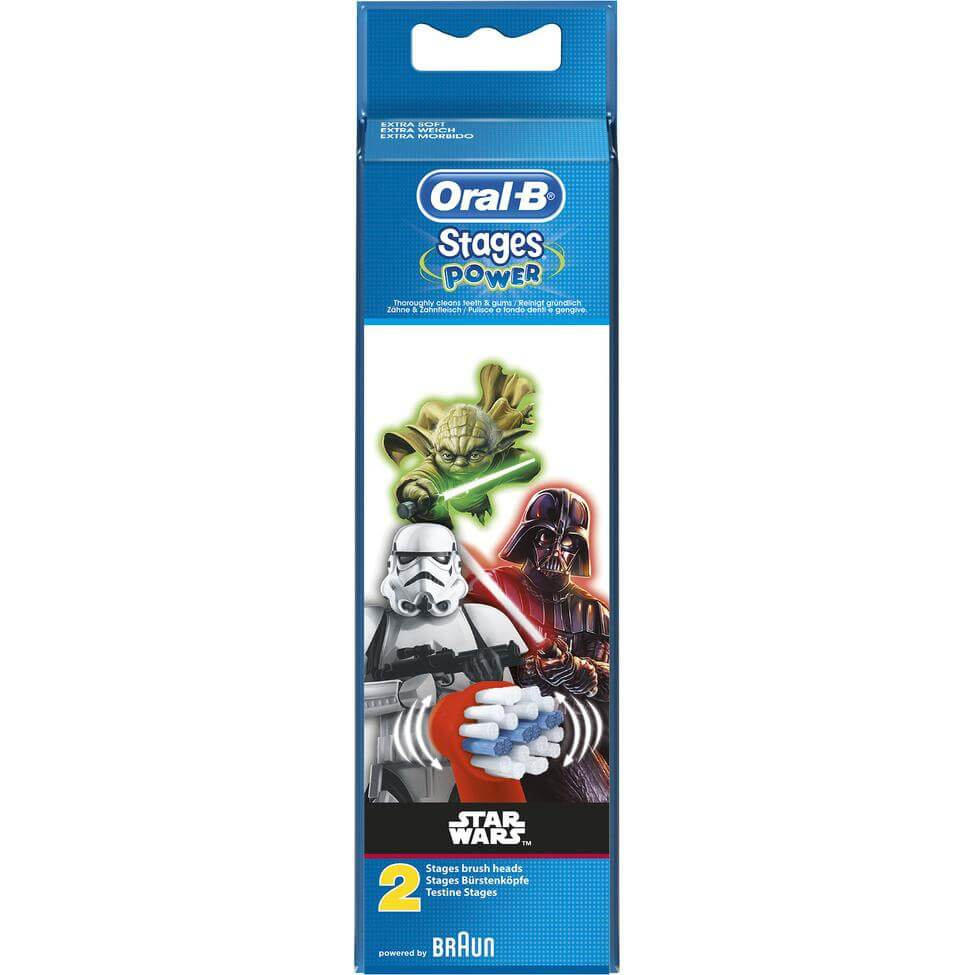 Oral-B Stages Power Star Wars Ανταλλακτικές Κεφαλές 2Τμχ