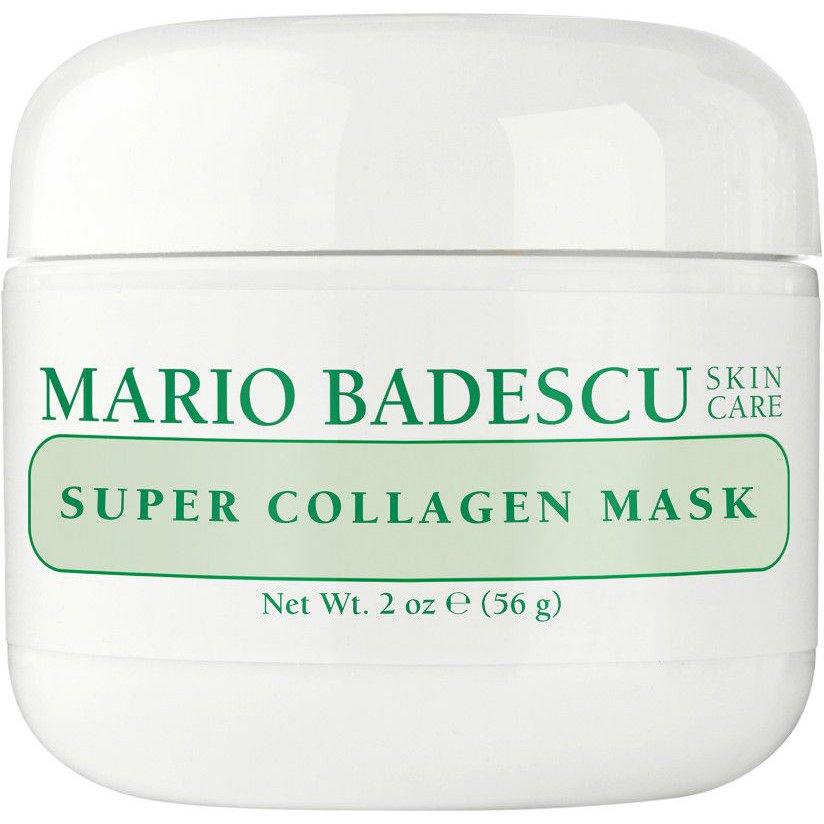 Mario Badescu Super Collagen Mask Μάσκα Προσώπου Βασισμένη στο Κολλαγόνο & την Άργιλο για Σύσφιξη & Καθαρισμό σε Βάθος 59ml