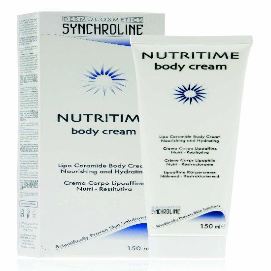 Synchroline Nutritime Body Cream Ενυδατική Θρεπτική και Μαλακτική Κρέμα Σώματος 150ml