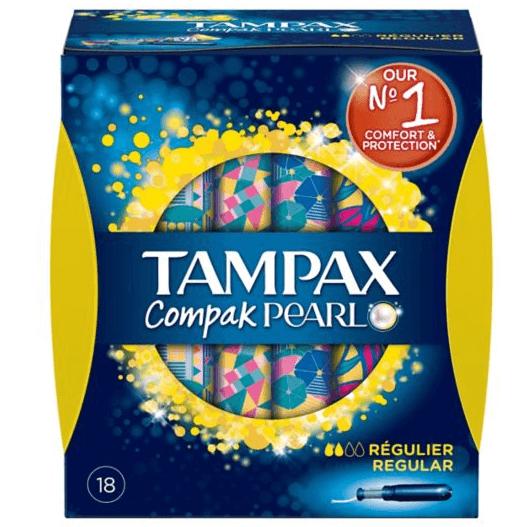 Tampax Compak Pearl Regular 18 τεμάχια
