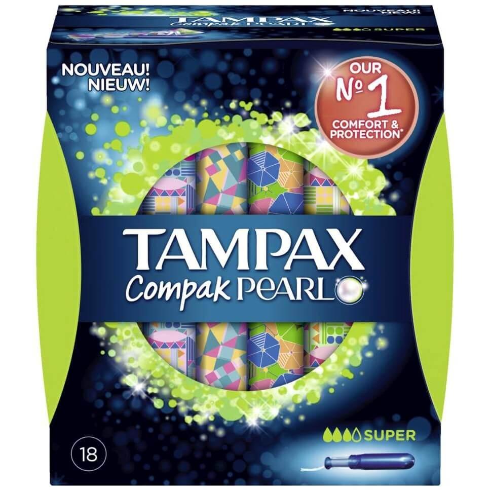 Tampax Compak Pearl Super 18 τεμάχια