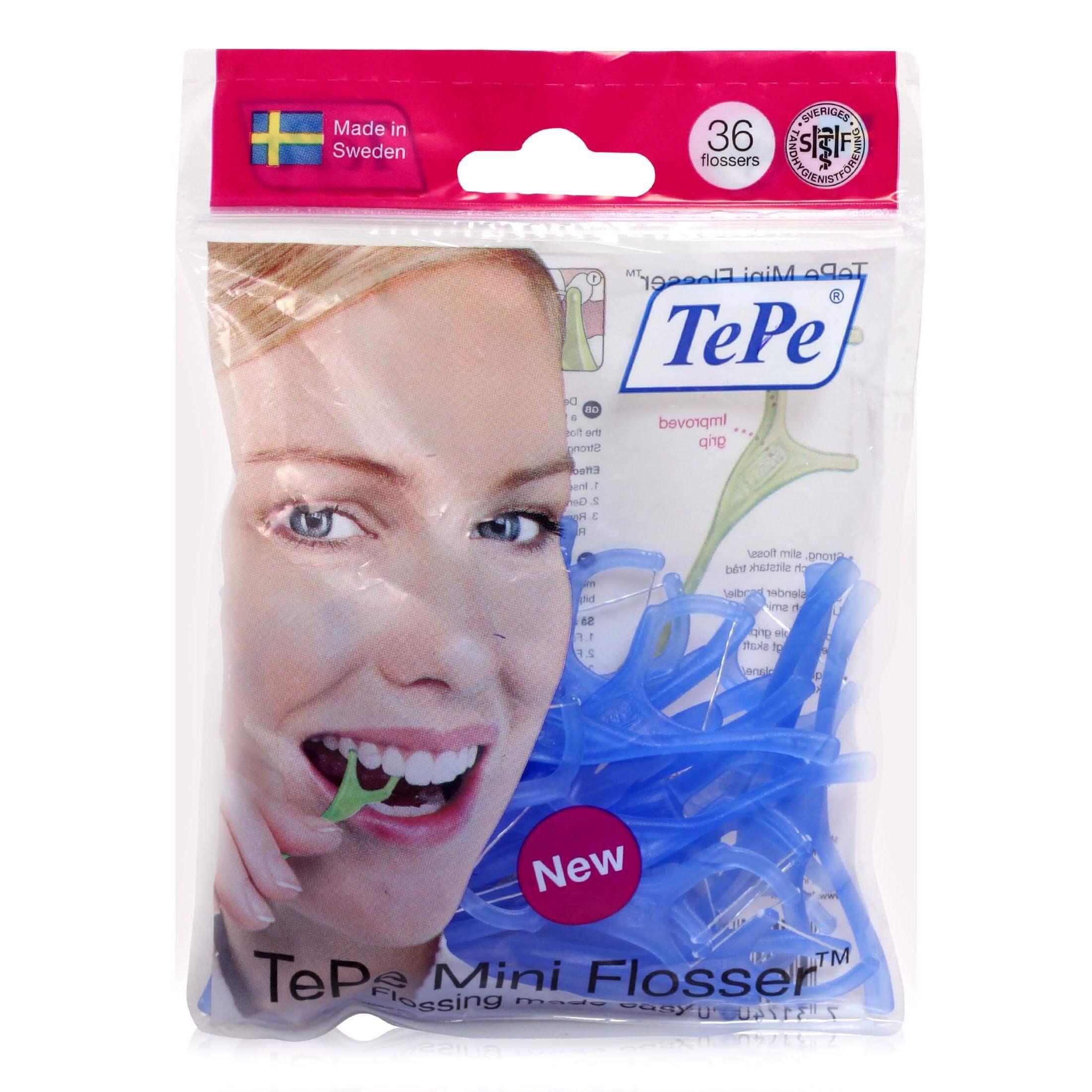Tepe Mini Flosser Για Απαλό Και Ααποτελεσματικό Καθαρισμό Ανάμεσα Στα Δόντια