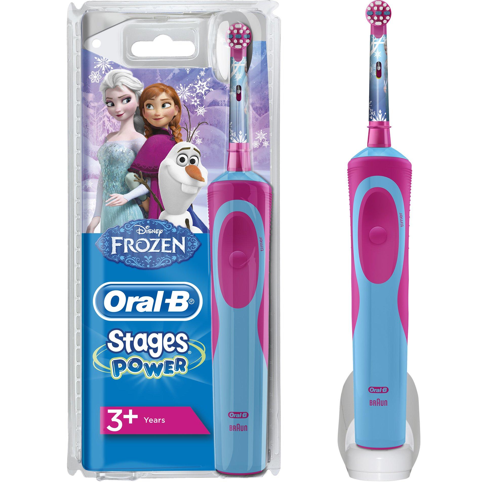 Oral-B Vitality Stages Frozen 3+ years Παιδική Ηλεκτρική Οδοντόβουρτσα προσφορές   δώρα  amp  προσφορές pharm24 gr   summer sales
