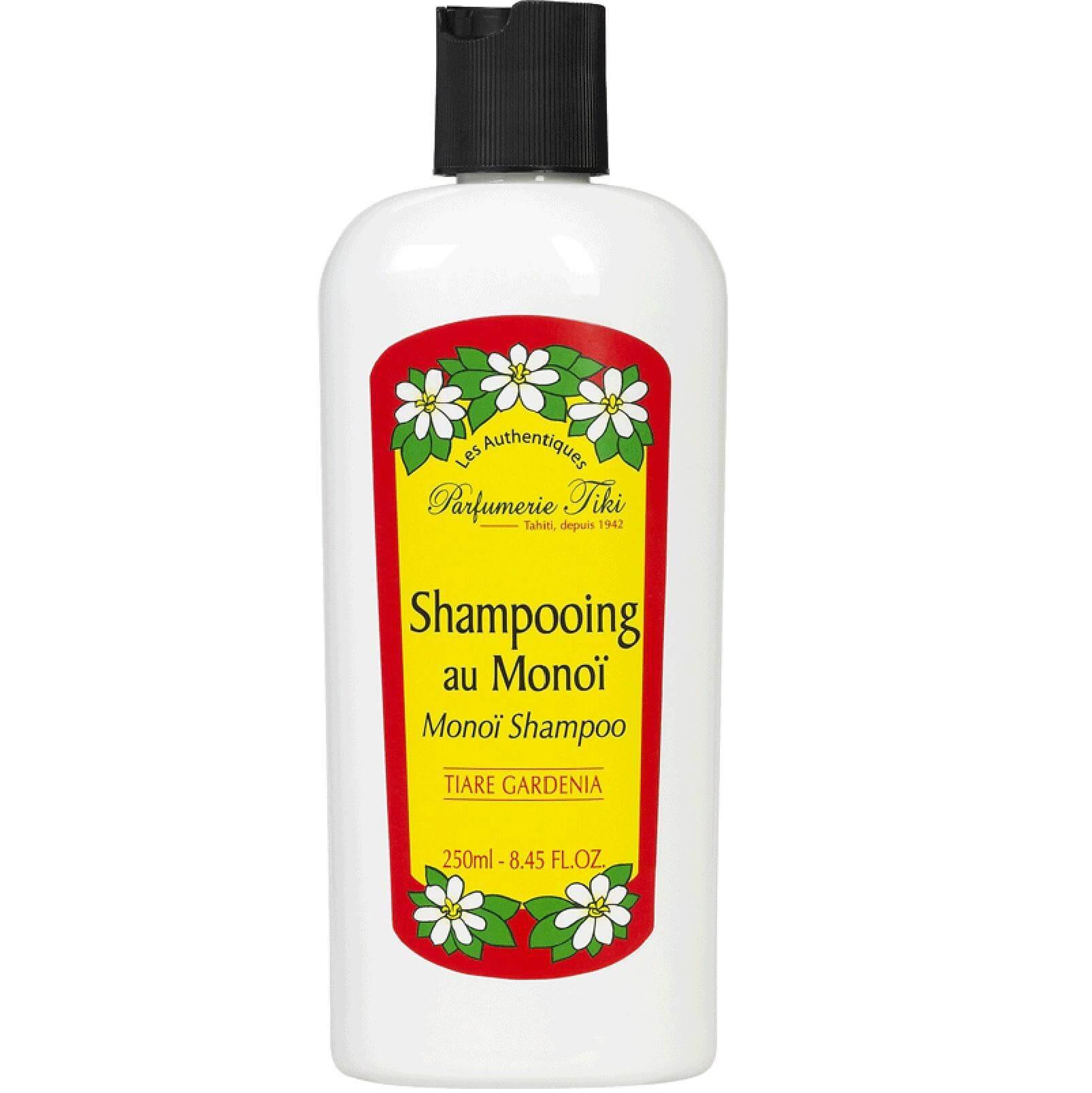 Monoi TikiShampooing Au Monoi Tiare Σαμπουάν για Ξηρά/Κατεστραμμένα Μαλλιάμε Άρωμα Γαρδένιας 250ml