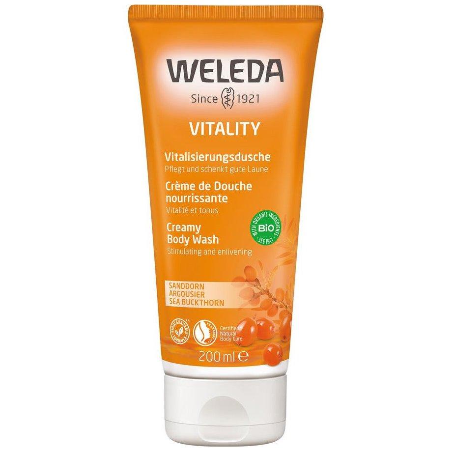 Weleda Creamy Body Wash Κρεμοντούς με Ιπποφαές για Φρεσκάδα & Τόνωση της Επιδερμίδας 200ml