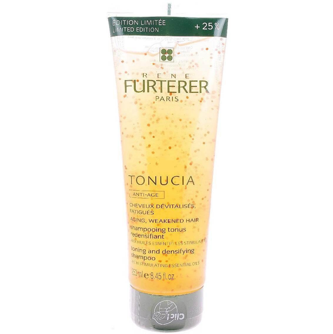 Rene Furterer Tonucia Shampooing Tonus Redensifiant Σαμπουάν για Κουρασμένα, Άτονα Μαλλιά 25% Offerts Limited Edition 250ml