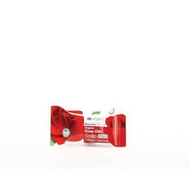 Dr Organic Organic Rose Otto Soap Σαπούνι με Βιολογικό Έλαιο Τριαντάφυλλου 100gr