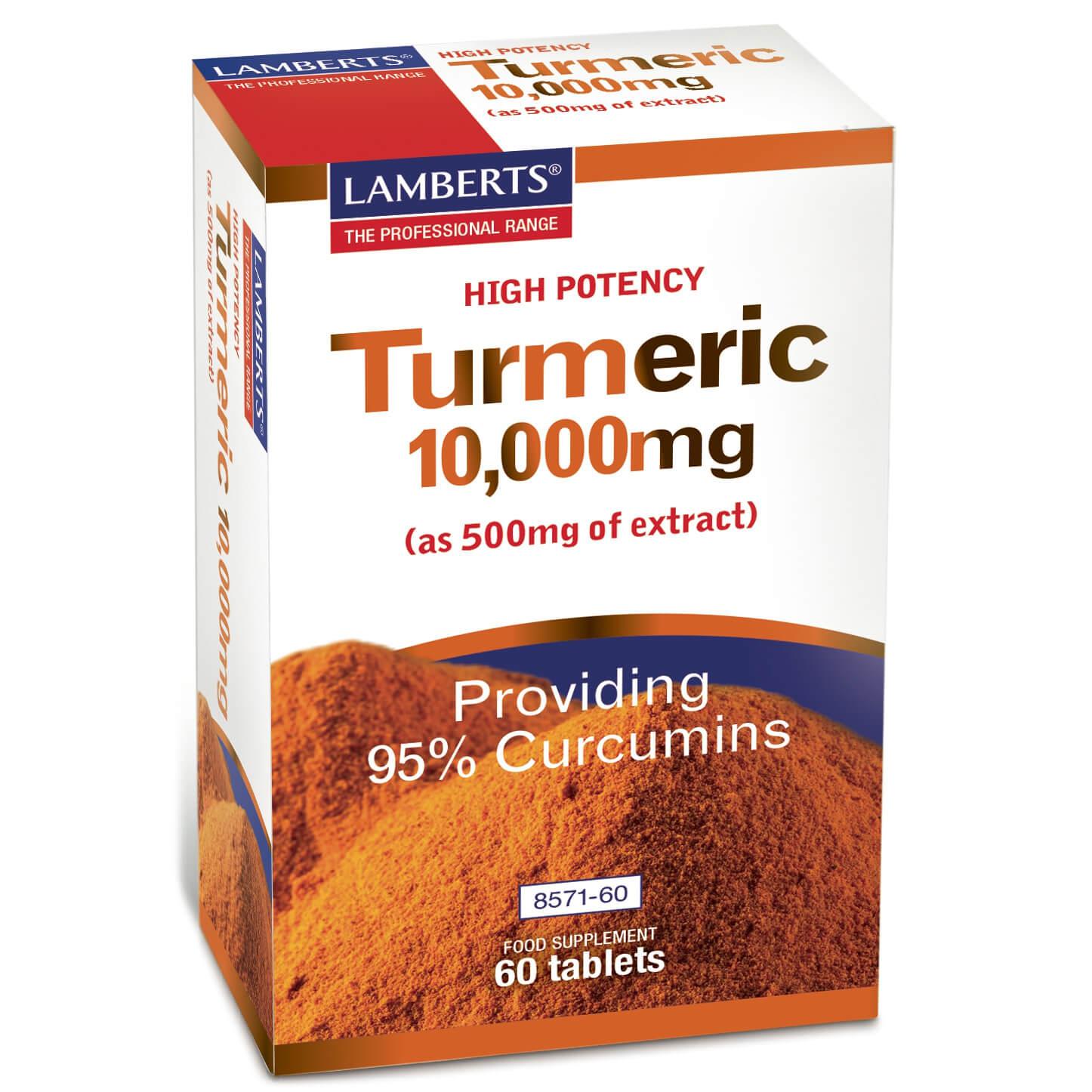 Lamberts Turmeric Κουρκουμίνη 10000mg 60 tabs
