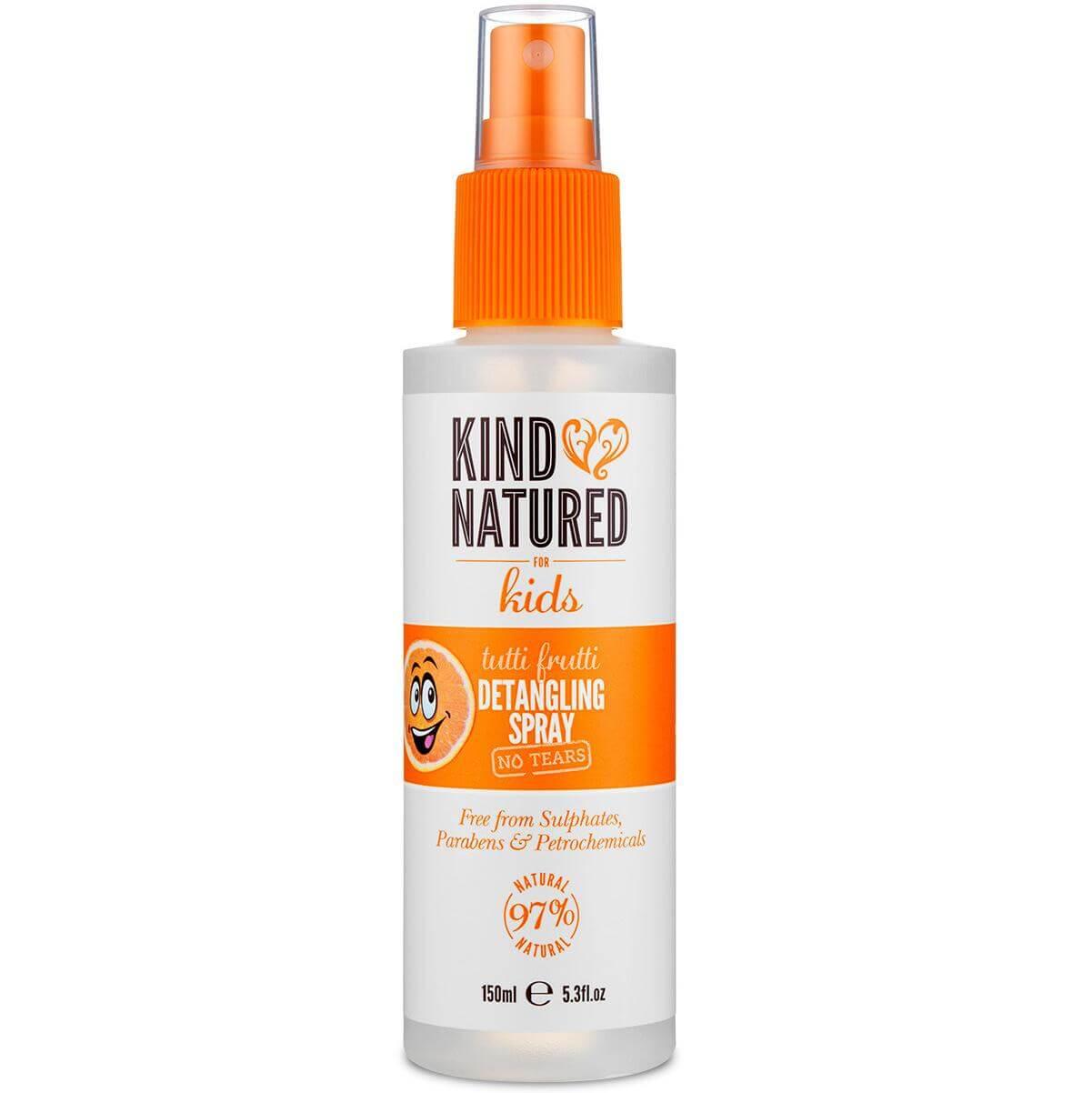 Kind Natured Tutti Frutti Detangling Spay No Tears Παιδικό Spray Μαλλιών με Άρωμα Φρούτων που Ξεμπερδεύει τα Μαλλιά 150ml