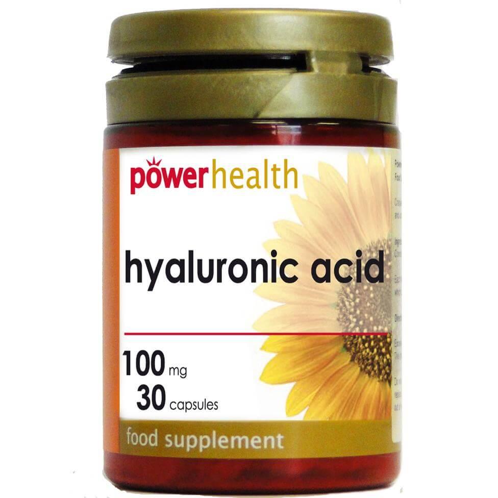 Power Health Hyaluronic Acid Σύμμαχος Μας Ενάντια Στο Χρόνο 100mg 30s