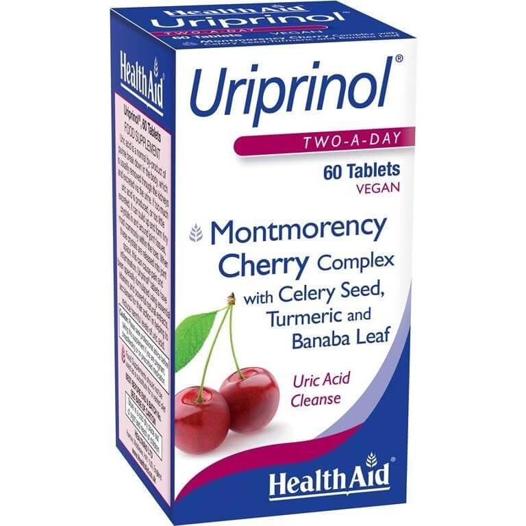 Health Aid Uriprinol Συμπλήρωμα Διατροφής Για Tην Καλή Υγεία Tου Ουροποιητικού 60 tabs